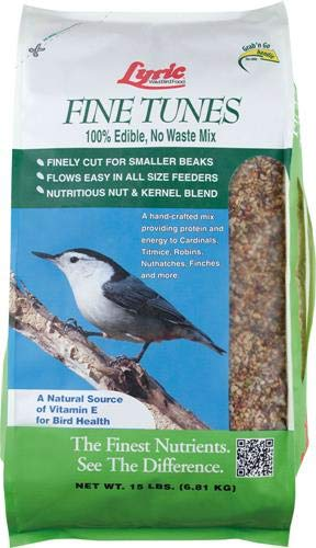 Mix Bird Food - Lyric 2647440 Fine Tunes No Waste Mix - 15 lb.