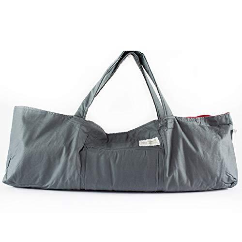 Amazon.com: Grey Yoga Bag, Shoulder Yoga Bag, Yoga Mat Bag ...