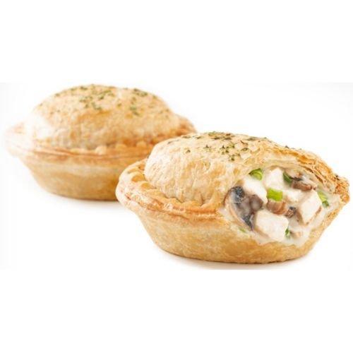 chicken and mushroom pie - 3