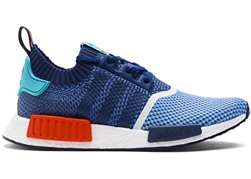 """Adidas NMD R1 PK Primeknit """"Packers"""" - Blue/Turquoise/Red 41 1/3 EUR"""