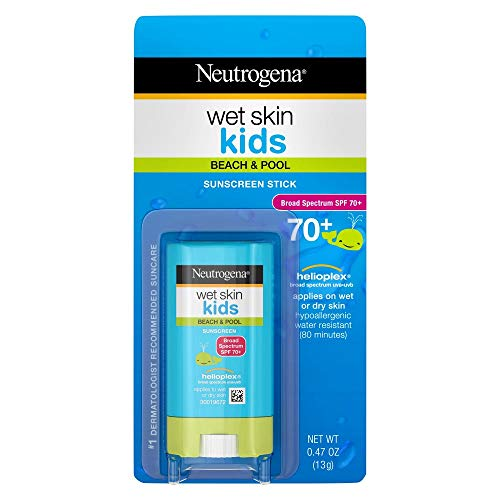 Neutrogena Wet Skin Kids Sunscreen SPF 70 – .47 oz, Pack of 4