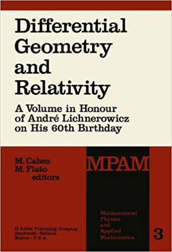 Book Differential Geometry and Relativity: A Volume in Honour of André Lichnerowicz on His 60th Birthday (Mathematical Physics and Applied Mathematics)
