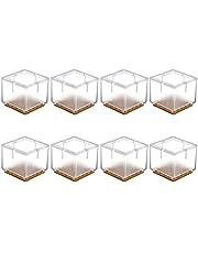 Qplcdg 8 x stoelpootdoppen van siliconen, voor vloerbedekking en stoelpoot bescherming openingspetten, tafelafdekking, meubel, tafelafdekking, meubel, tafelbekleding, beschermer, maat optioneel