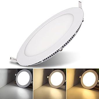 VINGO® 24W Ultraslim LED Farbwechsel 3 in 1 Panel Einbaustrahler ...