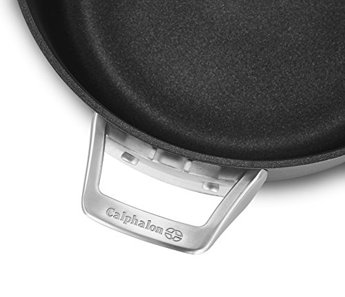 Calphalon Premier Space Saving Nonstick 12'' Everyday Pan with Cover by Calphalon (Image #1)