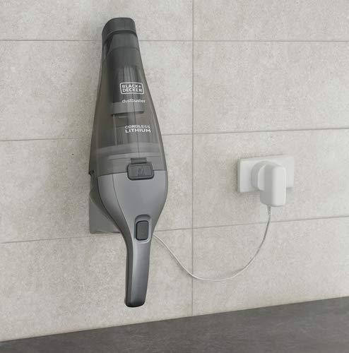 Cordless Dark Grey BLACK+DECKER dustbuster Handheld Vacuum HNVC220BCZ01