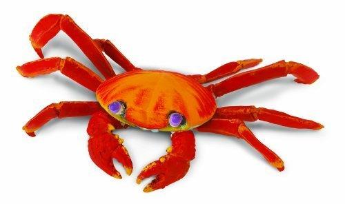Sally Lightfoot Crab - Safari 261729 Galapagos Sally Lightfoot Crab Animal Figure by Safari