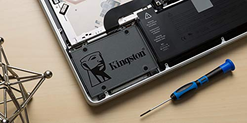 """Kingston 240GB A400 SATA 3 2.5"""" Internal SSD SA400S37/240G - HDD Replacement for Increase Performance"""