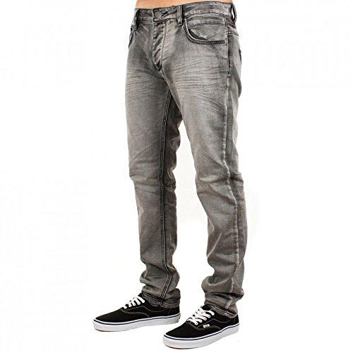 Deeluxe - Jeans Apollo Ajusté Slim Gris L34