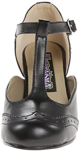 Pleaser Flapper 26, Zapatos de Tacón para Mujer Negro (Blk Pu)