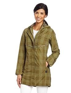 Helly Hansen Women's Embla Rain Coat, Dark Moss, Large