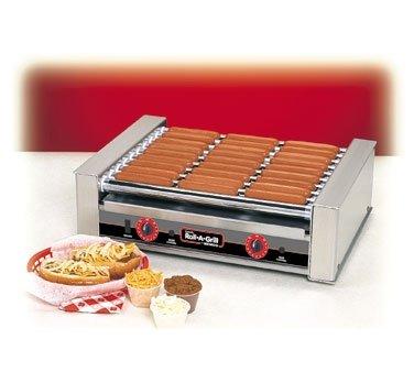 Nemco 27-Hot Dog Roller Grill - 22-1/4'' X 16-1/4'' X 7'' by Nemco