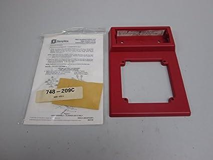 Amazon.com: NUEVO Simplex 4903 – 9501 Strobe placa de alarma ...