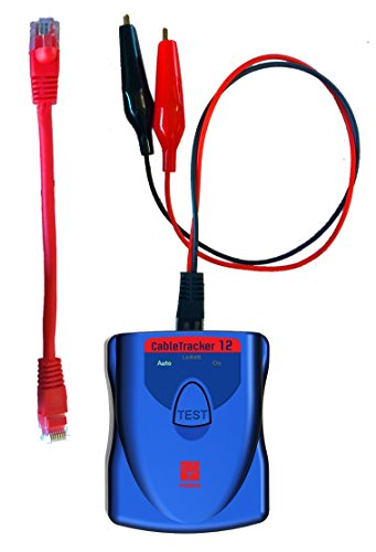 Psiber Data Systems CableTracker12 High Power Tone Generator, Blue/Red