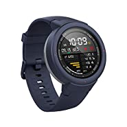 Amazfit Verge Smartwatch by Huami with GPS+ GLONASS All-Day Heart Rate and Activity Tracking, Sleep Monitoring, 5-Day Battery Life, Bluetooth, IPX68 Waterproof, US Service and Warranty - A1811