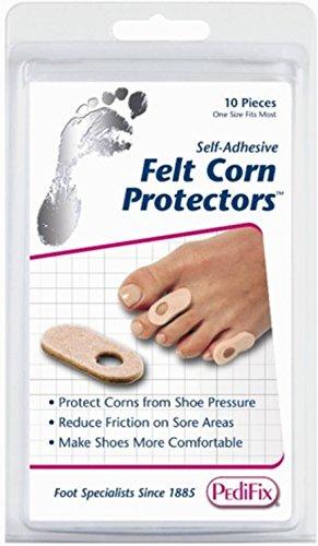 Pedifix Corn - Pedifix Felt Corn Protectors - 10 count