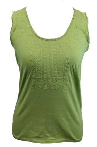 liz-claiborne-embroidered-tank-top-green-m