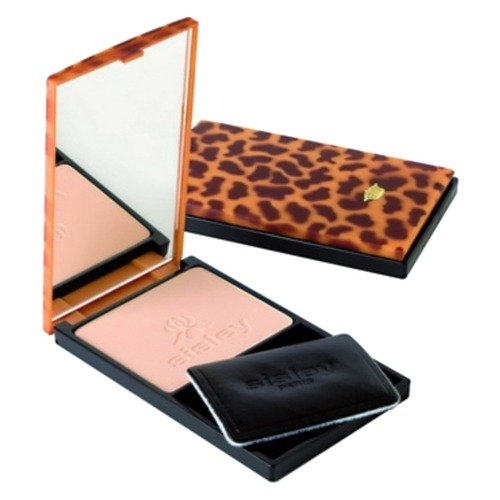 Sisley Phyto-Poudre Compact Pressed Powder for Women, No. 2 Sable/Sand, 0.31 Ounce