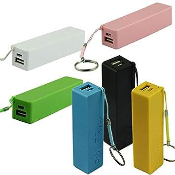 CarJTY Portable Power Bank 18650: Amazon.es: Electrónica