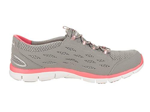 Going Sneaker Pink Gratis Women's Gray Skechers Sport Fashion Places wx4qFwv