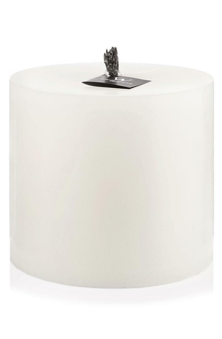 Wiedemann Outdoor Kerze-gegossen-Zylinder mittel, Wachs, Elfenbein, 30 x 24 cm