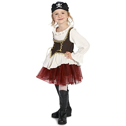 Pirate Tutu Girl Child Costume M (Pirate Tutu Costumes)