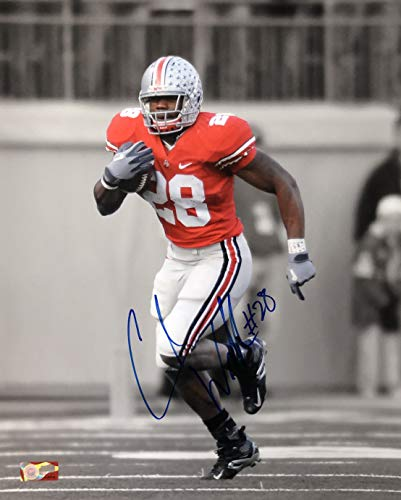 - Chris Beanie Wells OSU 16-5 16x20 Autographed Photo - Certified Authentic