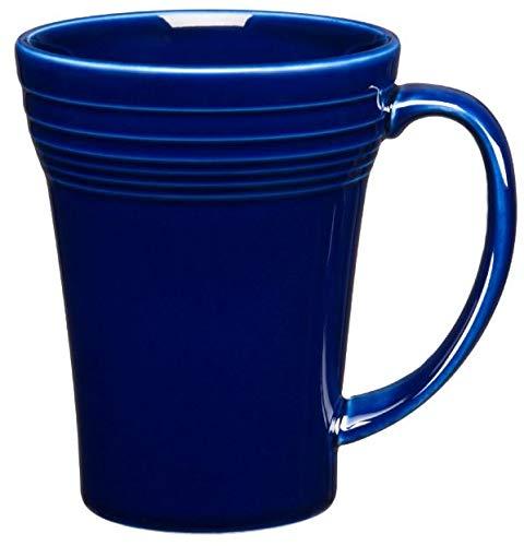 Fiesta 18-Ounce Bistro Latte Mug Cobalt Blue (Fiesta Cobalt Blue Cup)