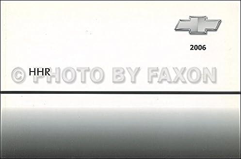 Hhr manuals boik array 2006 chevrolet hhr owner u0027s manual original chevrolet amazon com books rh amazon fandeluxe Images