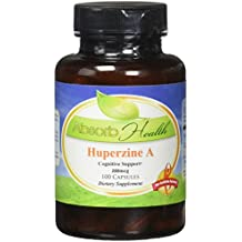 Absorb Health Huperzine A 200mg Capsules, 100 Count