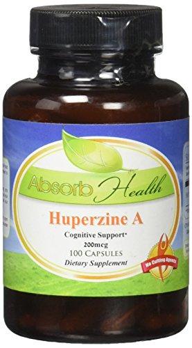 Absorb Health Huperzine 200mg Capsules