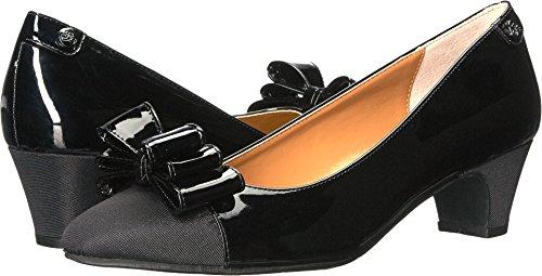 - J. Renee Women's Prattsi Black Patent/Black Grosgrain 8 M US