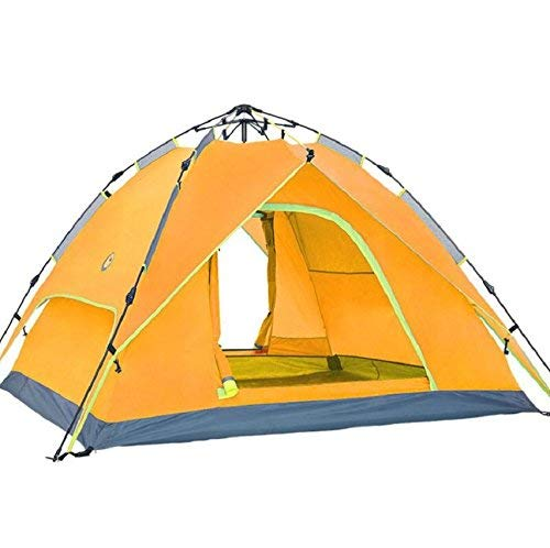 GZZ Guo Outdoor Outdoor Outdoor Products Tenda automatica da campeggio 3-4 persone Tenda Oxford Panno impermeabile traspirante, escursionismo, spiaggia, casa tende portatili,3-4 persone,arancia | Sale Italia  | Promozioni  181782
