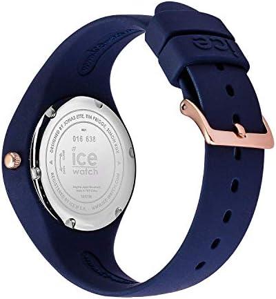Ice-Watch - Bastogne Glam twilight - Montre bleue pour femme avec bracelet en silicone - 016638 (Small)
