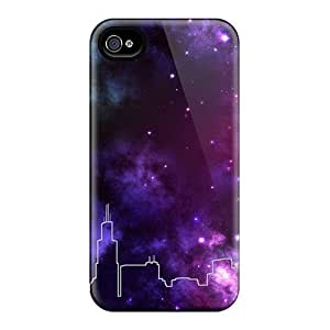 High Impact Dirt/shock Proof Iphone 5C (chicago Skyline Space)