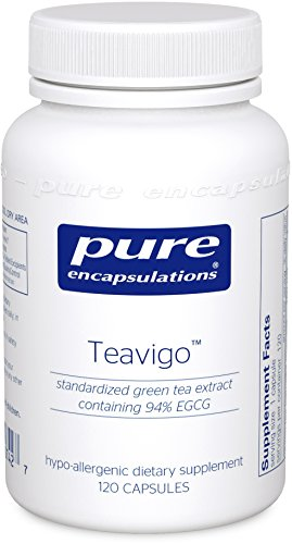 Pure Encapsulations - Teavigo - Hypoallergenic Supplement with Caffeine-Free Green Tea Extract to Provide Antioxidant and Cellular Support* - 120 Capsules by Pure Encapsulations