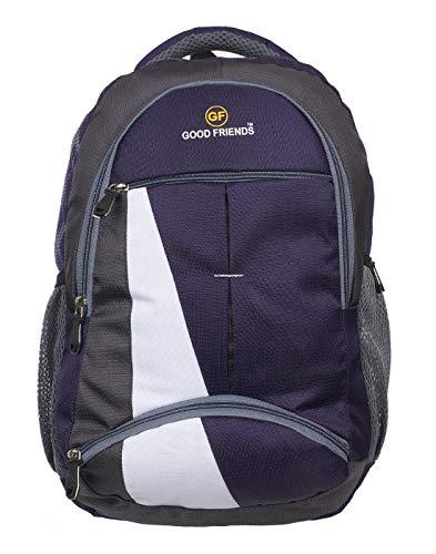 Good Friends Men #39;s Waterproof Laptop Backpack for School and College Bag