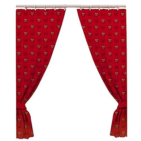 Arsenal F.c. Curtains Curtains One Pair Of Ready Made Curtains 66 ...