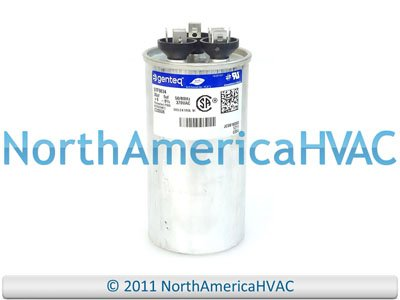 024-23998-700 - 35 + 5 uf MFD 370 Volt VAC - Coleman Round Dual Run Capacitor Upgrade
