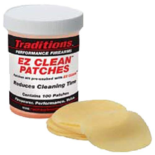 Traditions Cleaning Patches - Traditions Performance Firearms Gun Cleaning EZ Clean Patches