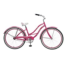 Cycle Force Women's Vintage Cruiser, 26x15.5 inch/One Size