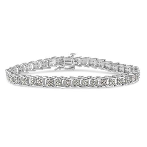 Original Classics 2.0 Ct Rose-Cut Diamond Fan-Shaped Bracelet - Flawless Style with Brilliant Shine
