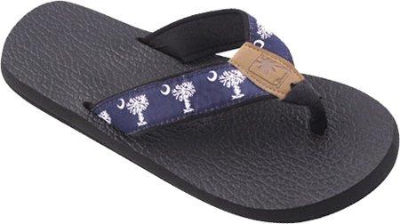 M 6 Sandals Tidewater Women's Palmetto US Blue White 14T0wOq