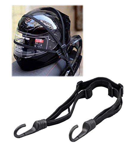 60cm Universal Helmet Rope Motorcycle Luggage Rope Belt Straps Elastic Net Rope
