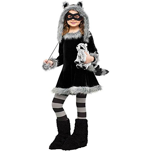Sweet Raccoon Dress Costume Child