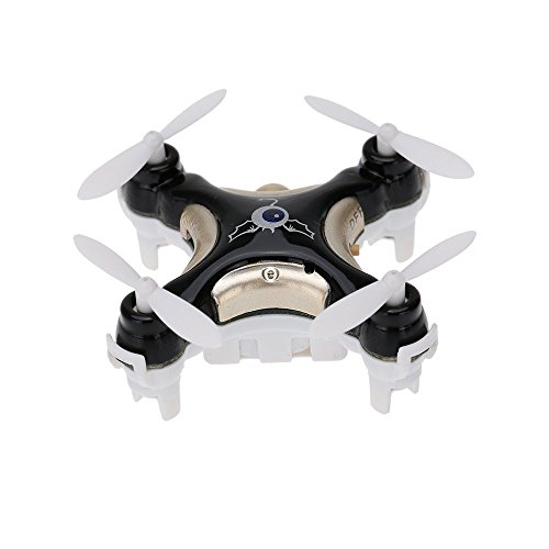 GoolRC CX-10C Mini 2.4G 4CH 6 Axis Nano RC Quadcopter with Camera RTF Mode 2 (Black)