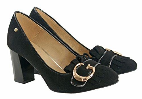 BOSCCOLO 4532-33-36 Timeless Pumps Heels Leather Leder Cuir