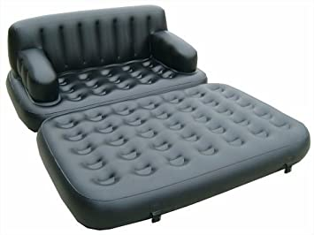 Wondrous Pure Comfort 5 In 1 Inflatable Sofa Bed By Pure Comfort Gmtry Best Dining Table And Chair Ideas Images Gmtryco