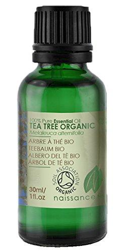 Bio Teebaumöl - 100% naturreines ätherisches Öl - Organisch zertifiziert - 30ml