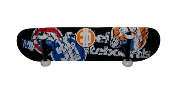 Cartel Papercuts - Skateboard, tamaño 6, 725, color azul ...